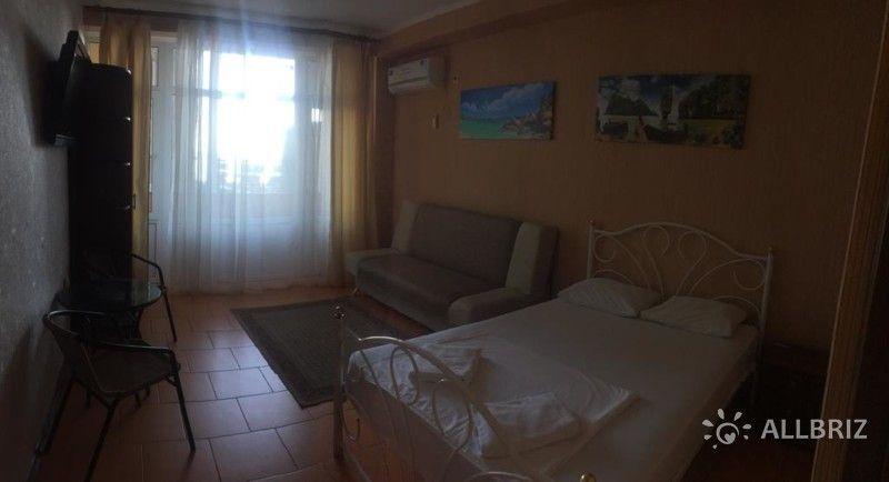 Апартаменты с 2 спальнями и видом на море и горы