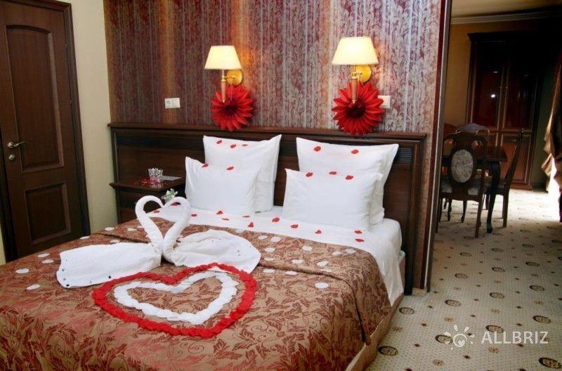 DEлюкс 2х местный 2х комнатный номер с удобствами повышенной комфортности