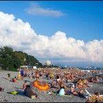 Пляж в Дагомысе