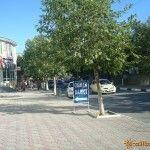 Центральная улица в Судаке