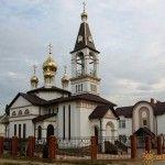 Церковь в Голубицкой