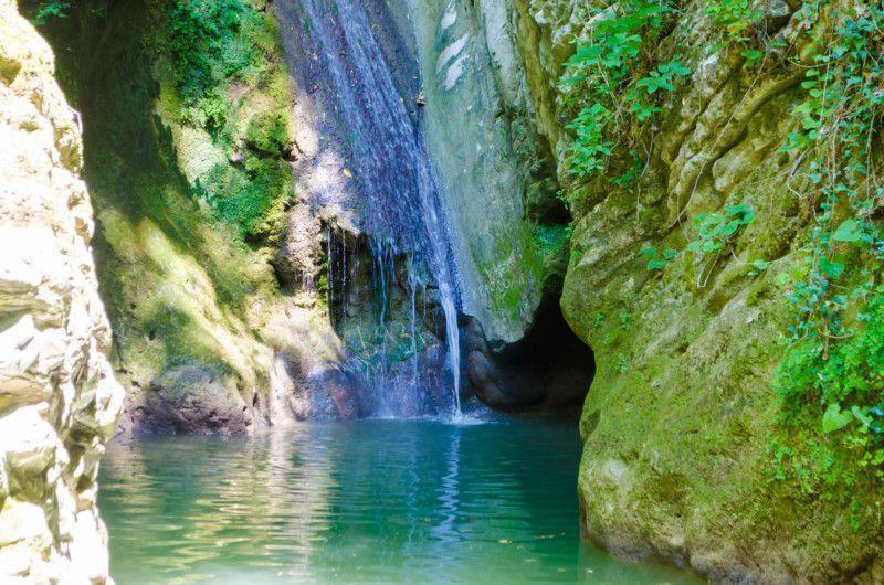 Водопад «Чудо Красотка»