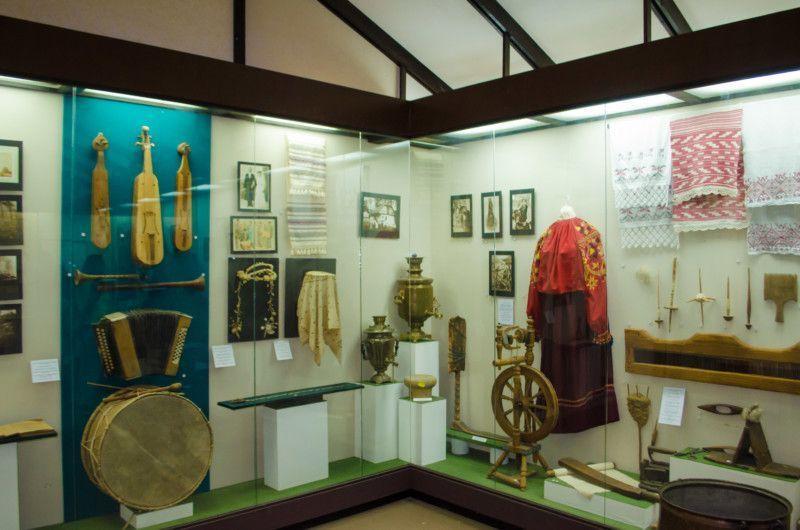 Экспозиция третьего зала музея