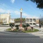 Добрый ангел мира на Площади Центра Национальных Культур в Лазаревском