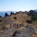 Гора «Карадаг» в Коктебеле