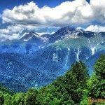 Горы в Красной Поляне