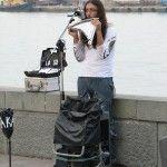 Музыкант на набережной