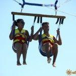 Полет на парашюте