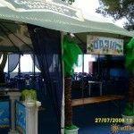 Кафе «Оазис» на пляже в Вардане