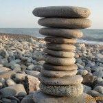 Каменистый пляж в Головинке