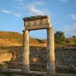 Колонны древнего Пантикапея