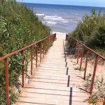 Лестница к пляжу