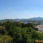 На горизонте гора «Гебеус»
