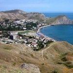 Вид с холмов на Орджоникидзе
