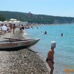 Пляж в Геленджике
