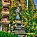 Памятник-фонтан «Ночь»