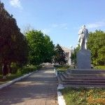Памятник Ленину в Должанской
