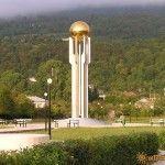 Памятник погибшим в войне за независимость Абхазии