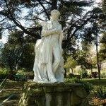 Памятник Пушкину в городском парке