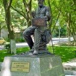 Памятник художнику А.А. Киселеву