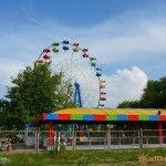 Парк аттракционов в Кучугурах