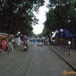 Парковая аллея в Ейске