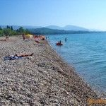 Пляж пансионата «Черноморец»