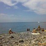 Пляж турбазы «Кудепста»