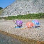Пляж в Дедеркое