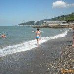 Пляж в Кудепсте