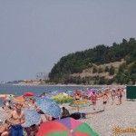 Пляж в Волконке