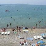 Пляж в Джубге