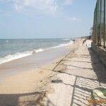 Пляж в Голубицкой