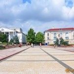 Площадь Ленина в Керчи