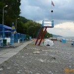 Пляж базы отдыха «Сокол»