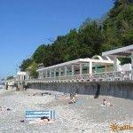 Пляж военного санатория «Лазурный берег»