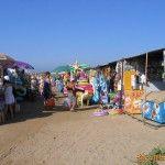 Рынок по дороге на пляж