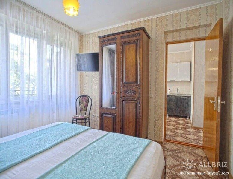 2х комнатные апартаменты с персональной кухней и балконом