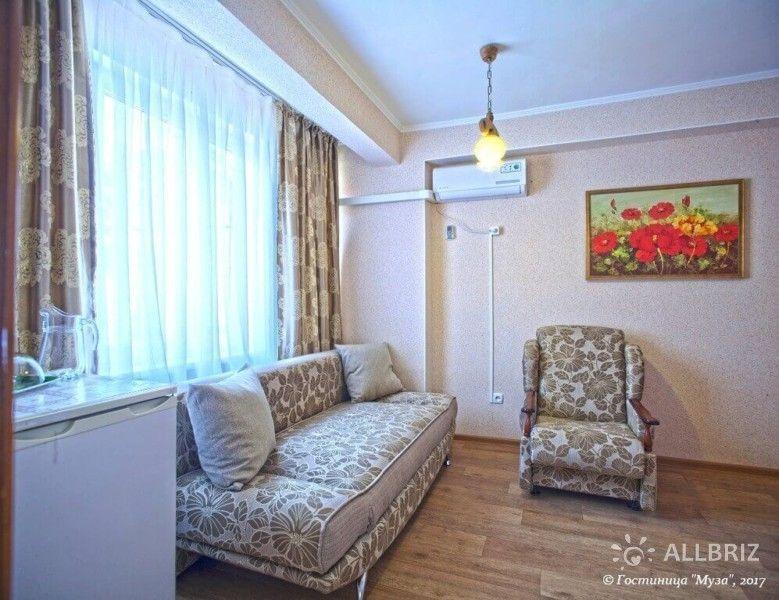 2х комнатный полулюкс с гостиной и балконом