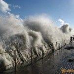 Ноябрьский шторм в Алуште