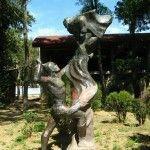 Скульптура «Герои сказок Пушкина»