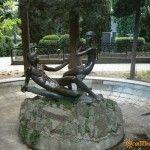 Скульптура в Гурзуфском парке