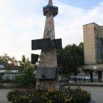 Стела в память о погибших воинах в Грузино-Абхазской войне
