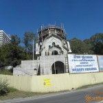 Строительство часовни в честь Федора Ушакова