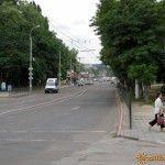 Улица Горького в Керчи