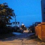 Улица Садовая в Бетте
