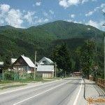 Улица Защитников Кавказа в Красной Поляне