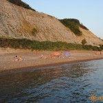 Вечерний пляж в Дедеркое