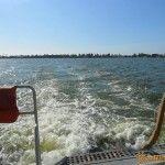 Вид на Ейск с моря