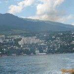 Вид на Гурзуф с моря